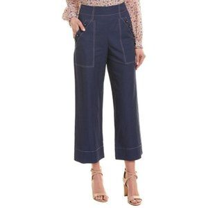 Rebecca Taylor Linen Cropped Pant 2